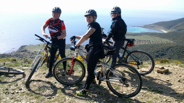 Happy Trails Happy Bikers in Tarifa