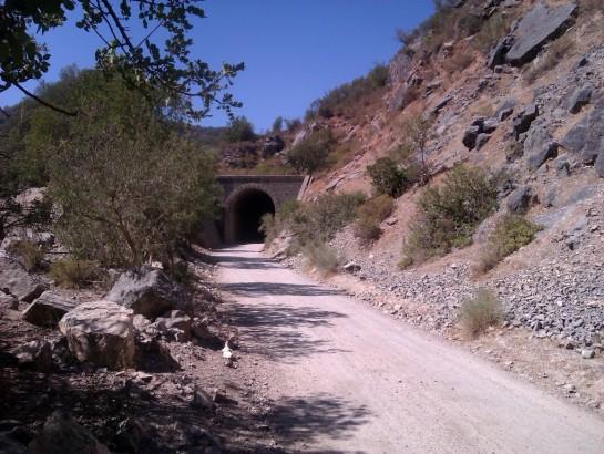 mtb route Via Verde de la Sierra Olvera Puerto Serrano.