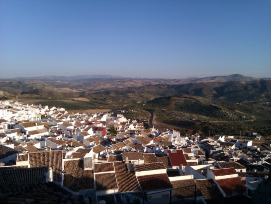 Olvera in Beautiful Andalucia.