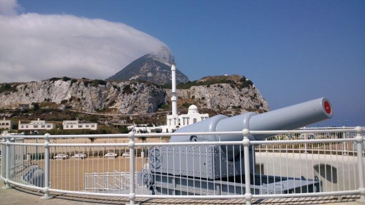 100 ton Gibraltar Gun.
