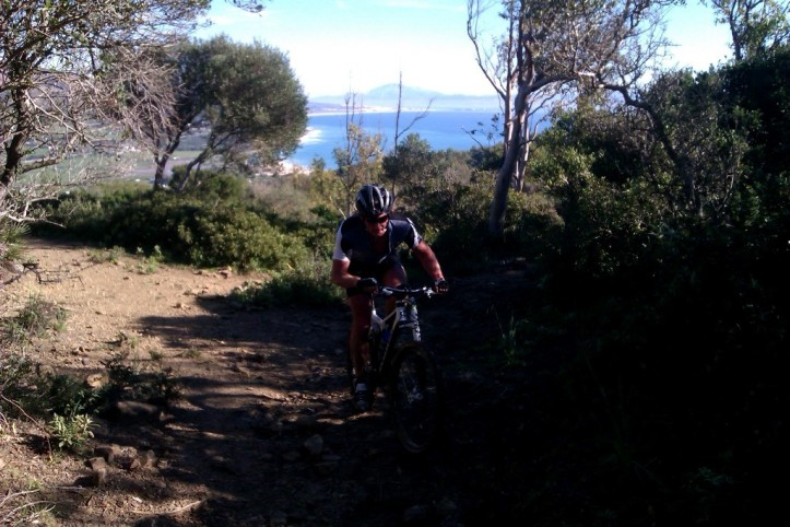 Amazing views wherever you bike in Tarifa.