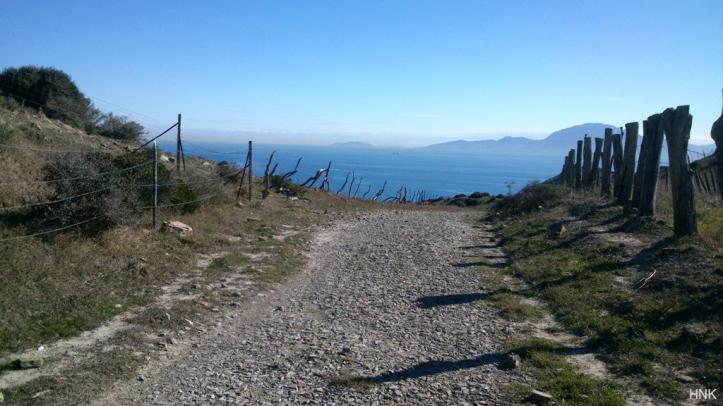 Great trail to bike with impressive views