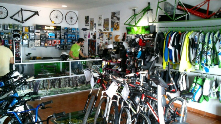 Mtb Shop Green Rider Algeciras.