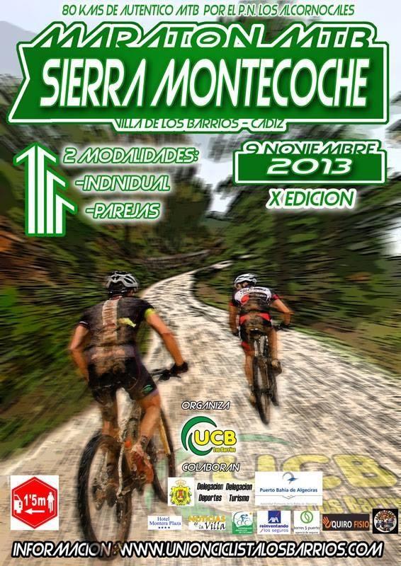 mtb maratón sierra montecoche 9 noviembre 2013