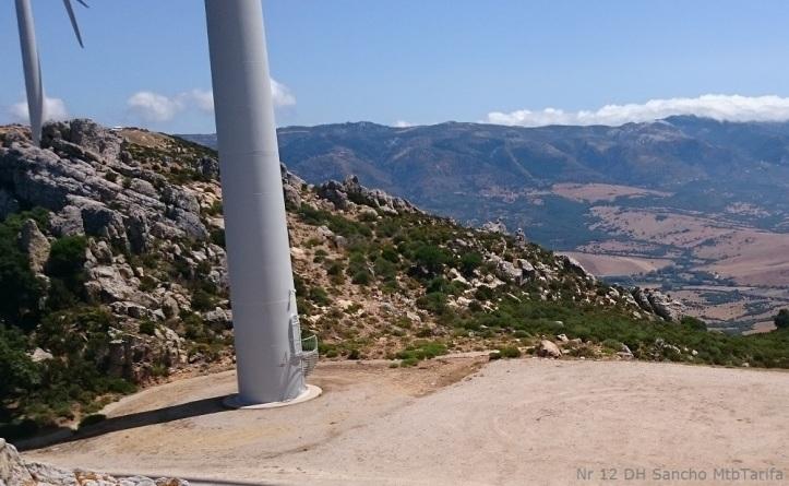 Startpoint of DH Sancho La Peña
