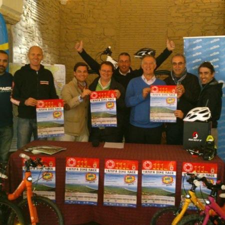 Rueda de Prensa Tarifa Bike Race. 22 de febrero 2014 en la Iglesia de Santa Maria.