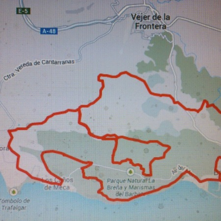 La Ruta Del 2ª CicloTurista De Barbate