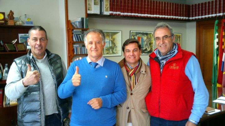 Reunión en el Ayuntamiento de Tarifa