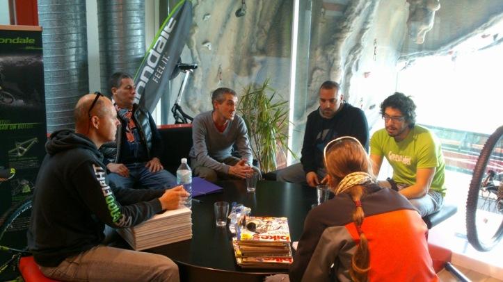 Reunion con Genci Cortes, Director de la Carrera.