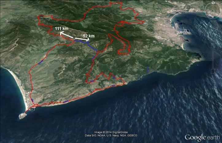 Las Rutas de Tarifa Bike Race. Oficial Race 111 km. opción 52 km. Un evento para disfrutar la belleza de la naturaleza y el ciclismo de montaña a un lugar excepcional en puro estado.