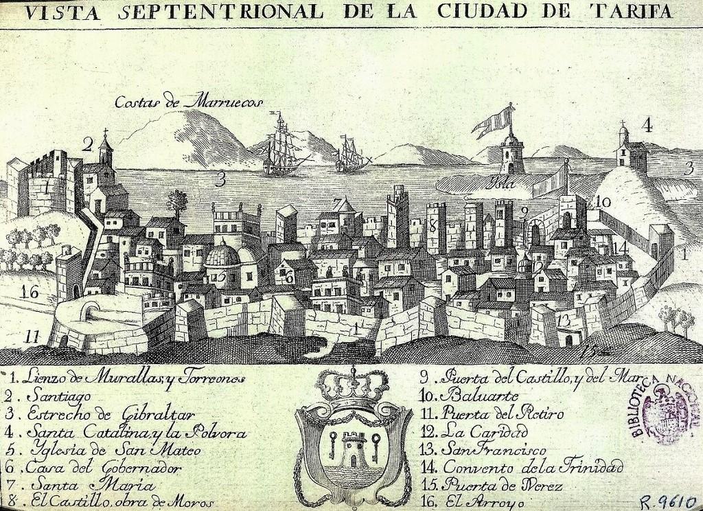 Tarifa Año 1780
