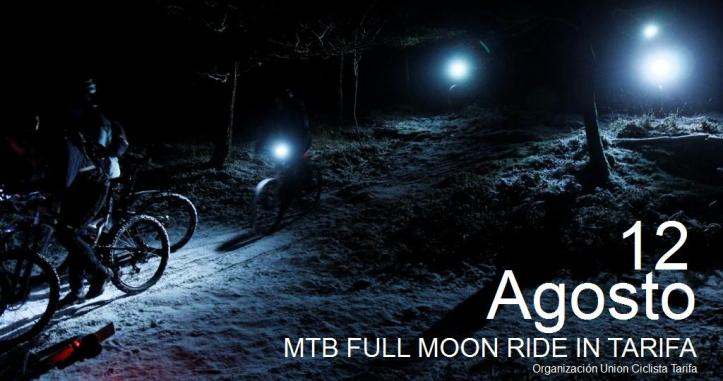 Full Moon Night Ride Tarifa 2014