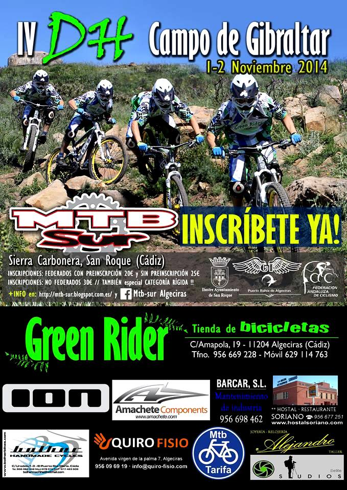 IV Downhill Campeonato Campo de Gibraltar