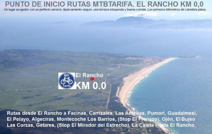 Punto De Inicio El Rancho KM 0.0 MtbTarifa
