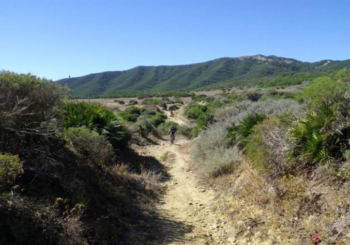 20 km es la distancia entre Tarifa y Getares
