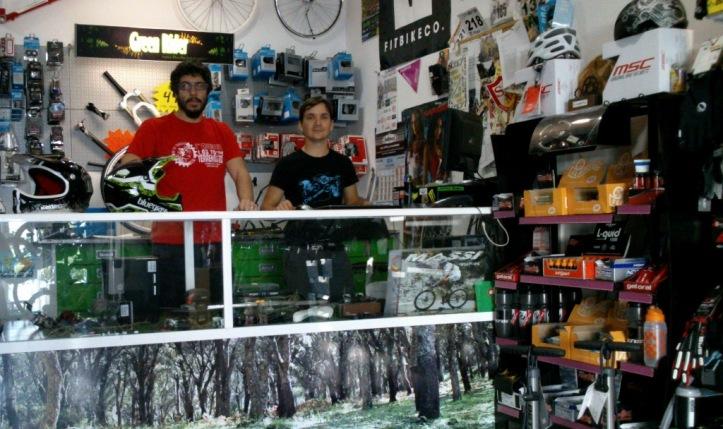 Green Rider Bike Shop in Algeciras