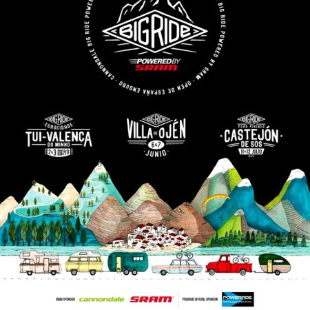 Poster Big Ride Villa de Ojén 2015