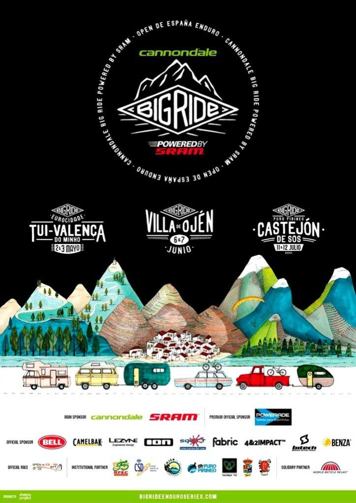 Poster Big Ride Villa de Ojén 2015