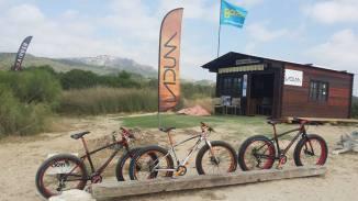 Fat Bikes for rent by LaDuna in Tarifa