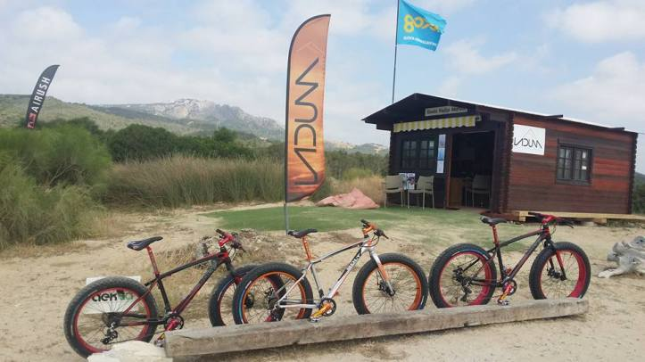 Fat Bikes for rent by LaDuna in Tarifa