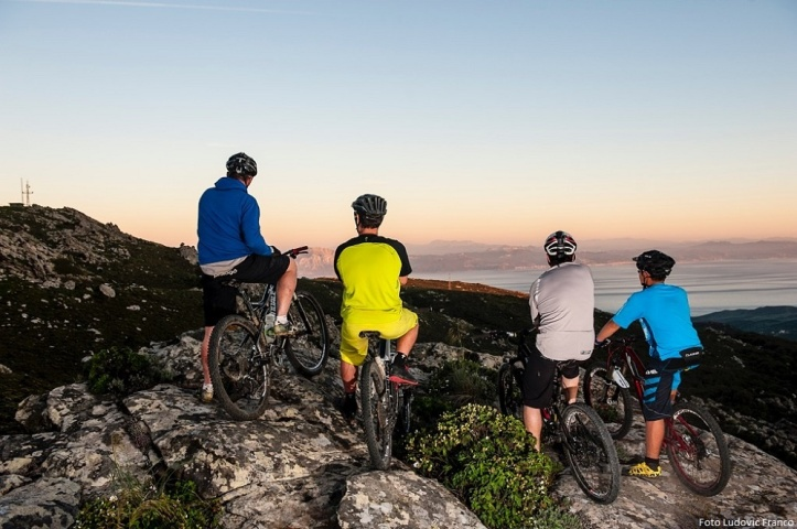 Friends Biking Amazing Trails in Tarifa