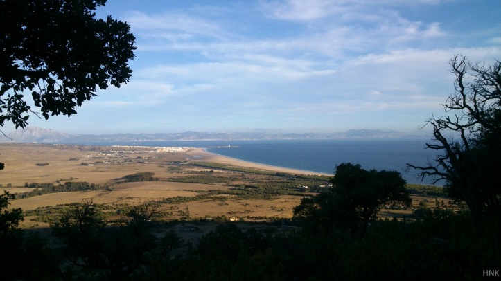 Very Impressive Views in Tarifa. View from La Peña HNK track