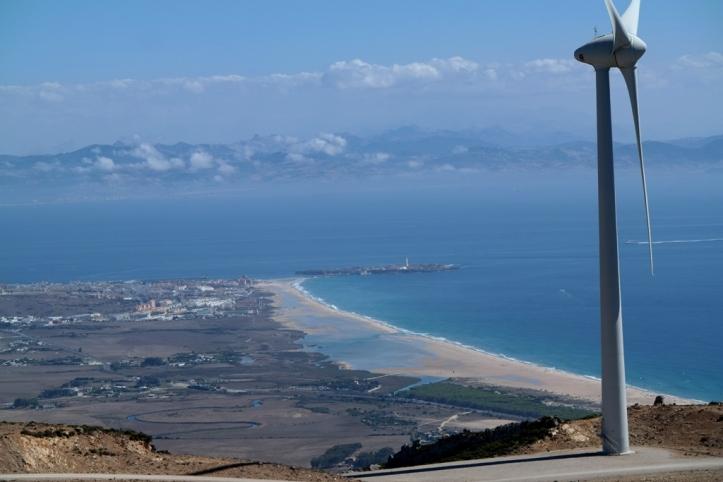 Views from Sierra Enmedio in Tarifa
