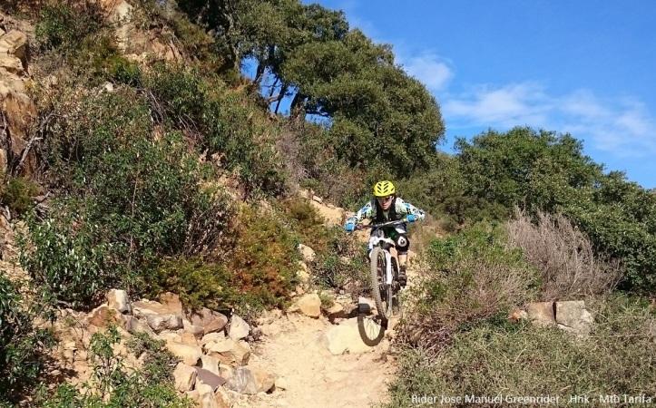 Fun weekend mountain biking in Tarifa