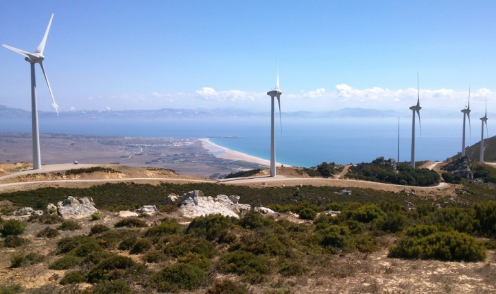 Tarifa, views to Africa