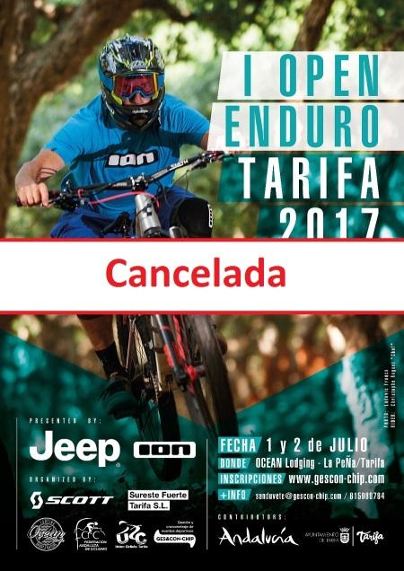 Open Mtb Enduro Tarifa 2017 CANCELADA