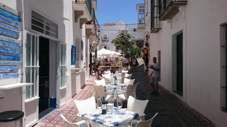 Tapas Bars in the Old Town of Tarifa