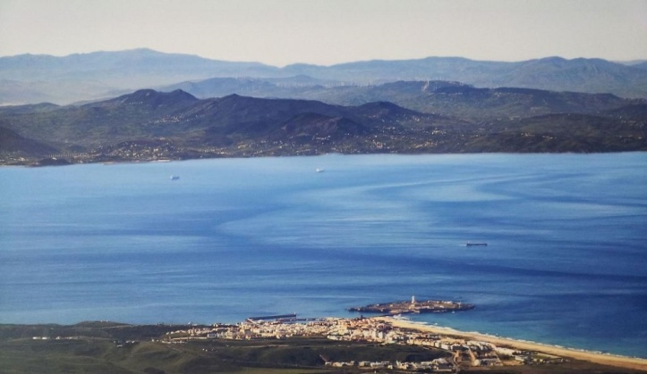 Tarifa at the Strait of Gibraltar