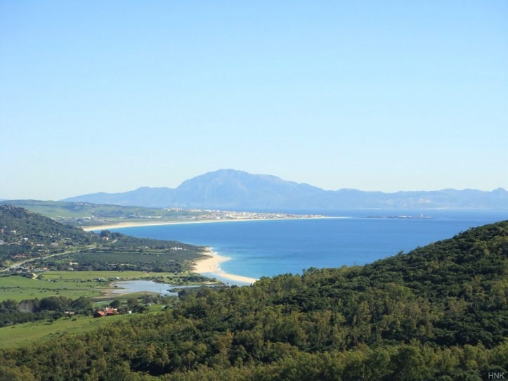 The famous beaches of Tarifa