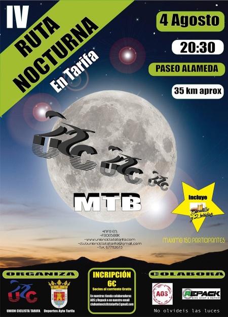 Ruta Nocturna Mtb en Tarifa