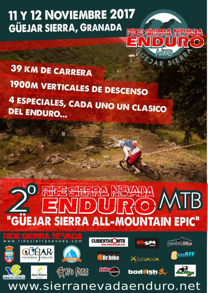 Ride Sierra Nevada Enduro MTB 2017