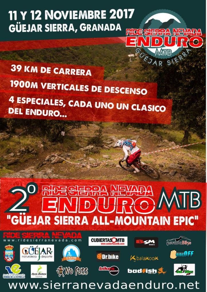 Ride Sierra Nevada Enduro MTB 2017