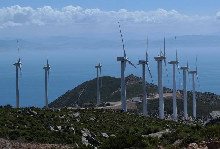 Mtb Enduro Wind Turbine Tour Tarifa