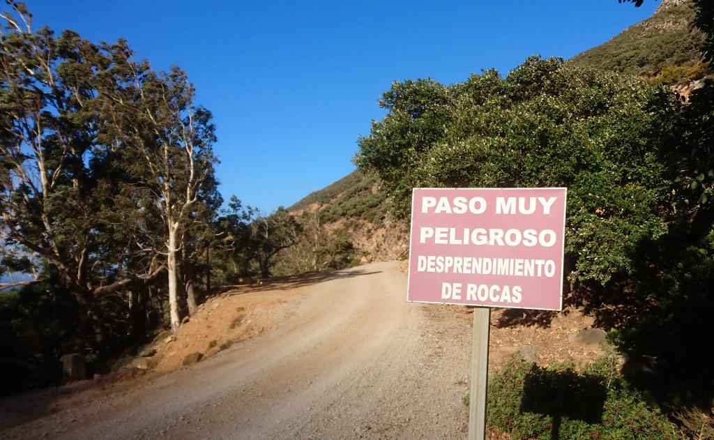 Carrizales trail in tarifa